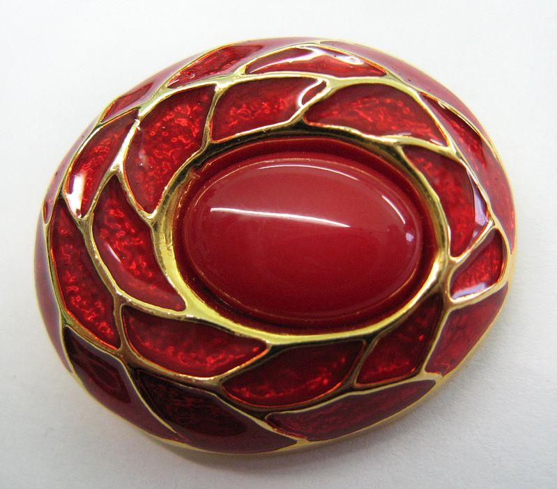 Zierknopf 3,5 x 3 cm