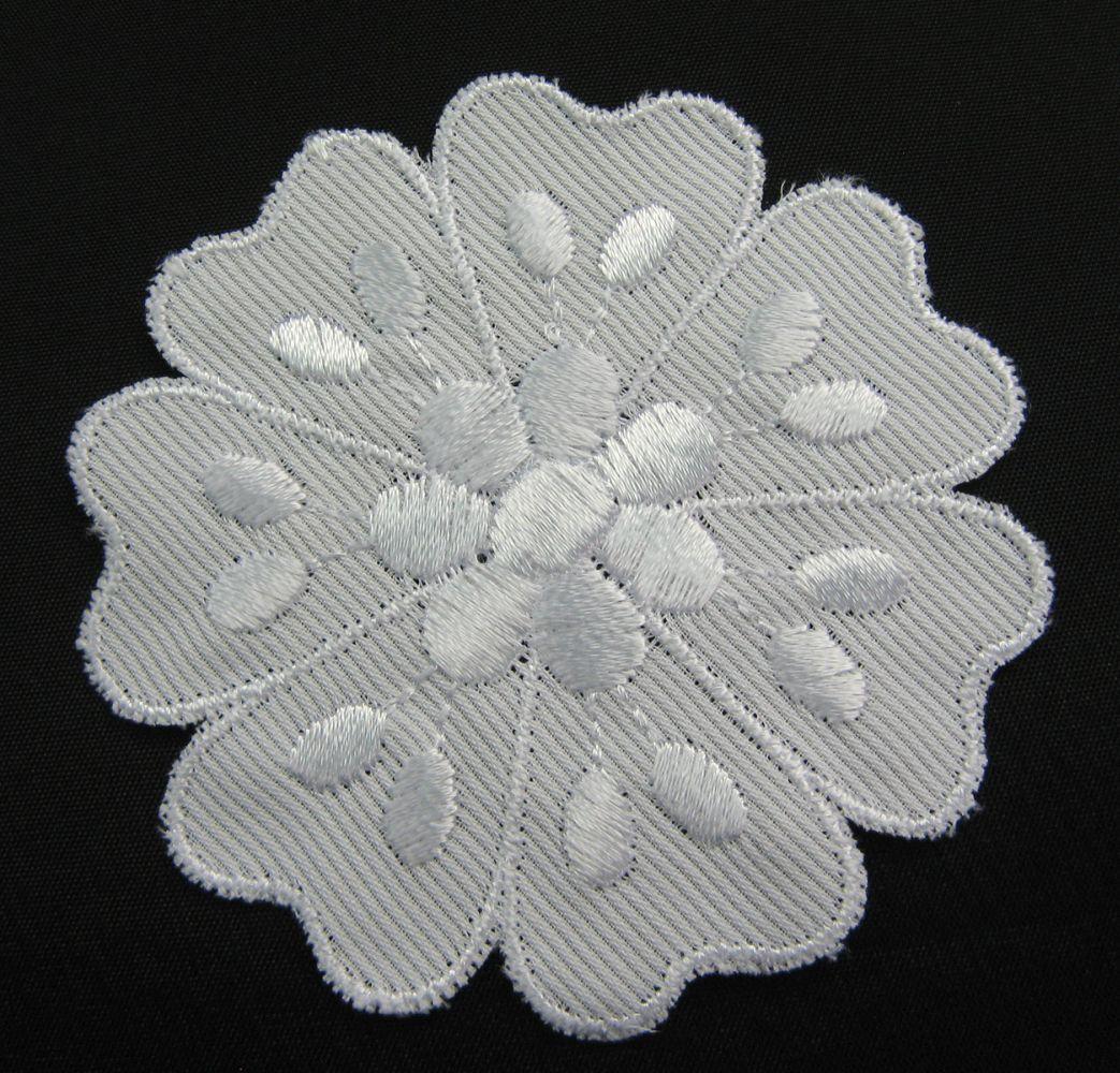 Baumwollstickerei 8 cm