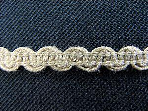 Baumwollband, hellbraun